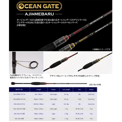 Jackson Ocean Gate Mebering JOG-76L-K MB