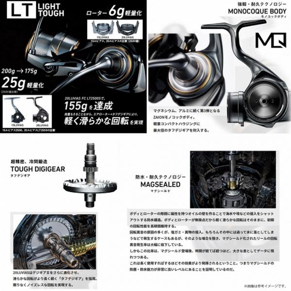Daiwa 20 Luvias LT3000S-CXH