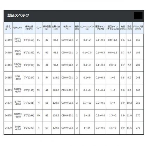 Gamakatsu LUXXE Yoihime Hana S63UL-solid