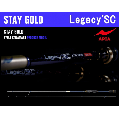 Apia Legacy'SC STAY GOLD 82ML