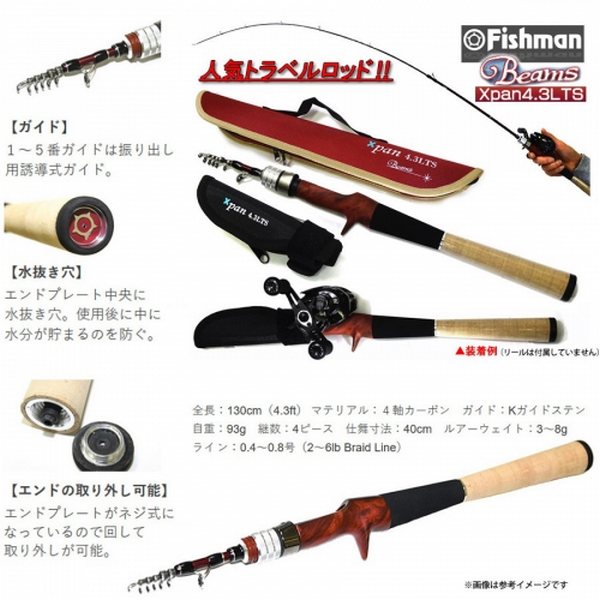 Fishman Beams Xpan 4.3LTS