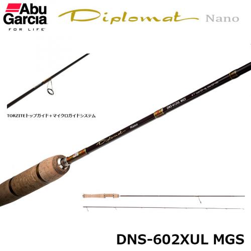 Abu Garcia Diplomat Nano DNS-602XUL MGS