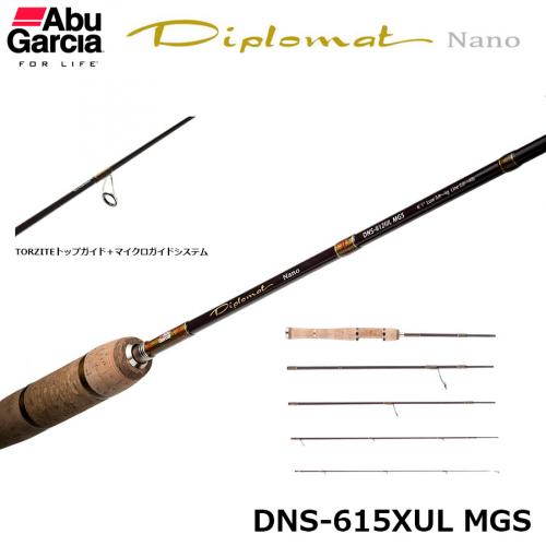 Abu Garcia Diplomat Nano DNS-615XUL MGS