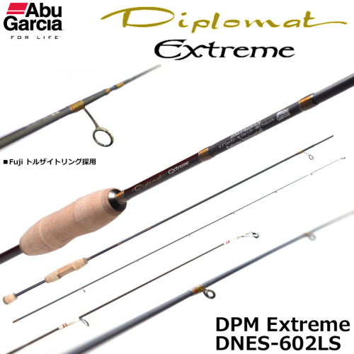 Abu Garcia Diplomat Extreme DNES-602LS