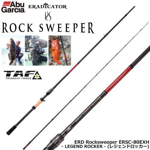 Abu Garcia Eradicator Rocksweeper ERSC-80EXH