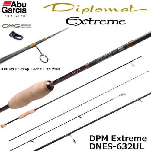 Abu Garcia Diplomat Extreme DNES-632UL