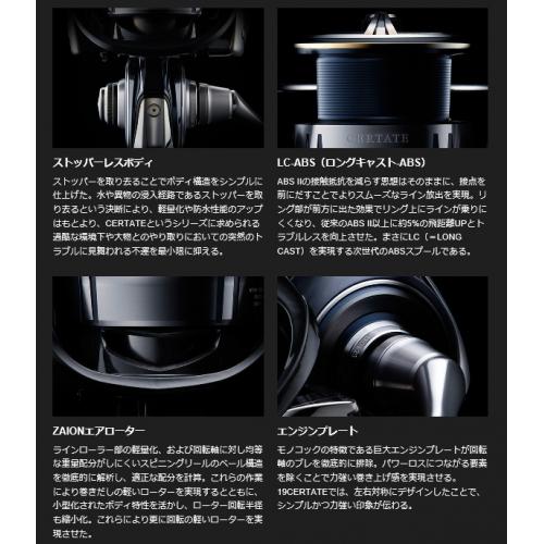 Daiwa 19 Certate LT3000S-CH-DH
