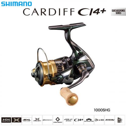 Shimano 18 Cardiff CI4+ 1000SHG