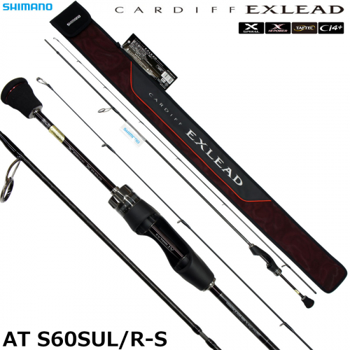 Shimano 18 Cardiff Exlead AT S60SUL/R-S
