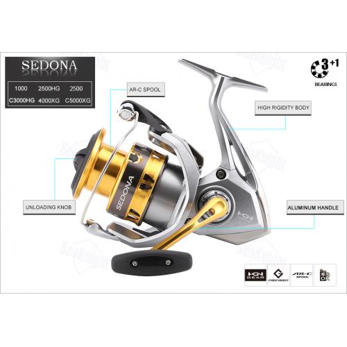 Shimano 17 Sedona C3000DH