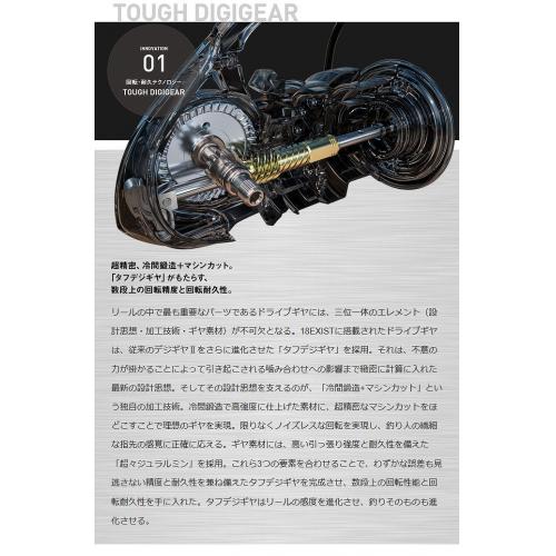 Daiwa 18 EXIST LT2500S-XH-DH