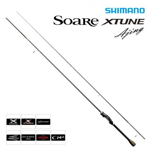 Shimano 16 Soare XTune Ajing S604L-S