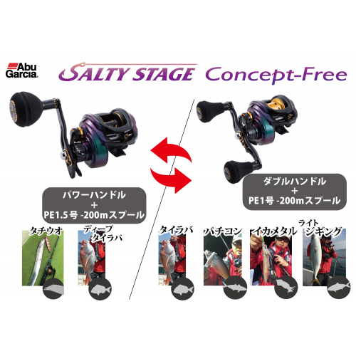 Abu Garcia 19 SALTY STAGE CONCEPT-FREE