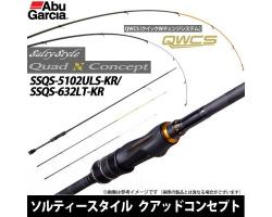 Abu Garcia Salty Style Quad Concept SSQS-5102ULS-KR/632LT-KR