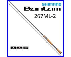 Shimano 19 Bantam 267ML-2