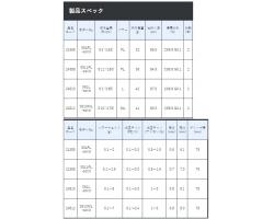 Gamakatsu LUXXE Yoihime Ten S61L-solid