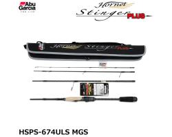Abu Garcia Hornet Stinger Plus HSPS-674ULS