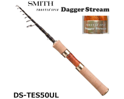 Smith Troutin Spin Dagger Stream DS-TES50UL