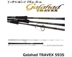 Yamaga Blanks Galahad TRAVEX 593S