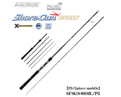 PALMS Shore Gun Evolv SFSGS-86ML/P5