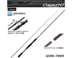 Graphiteleader COMPATTO GCMC-705M