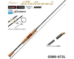 Graphiteleader 18 Super Bellezza GSBS-672L