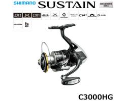 Shimano 17 Sustain C3000HG