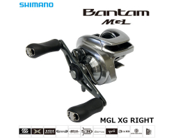 Shimano 18 Bantam MGL XG RIGHT