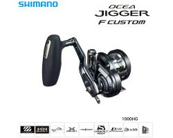 Shimano 19 Ocea Jigger F CUSTOM 1000HG