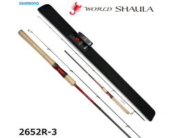Shimano 18 World SHAULA 2652R-3 Red Type
