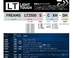 Daiwa Freams 18 LT 3000S-CXH
